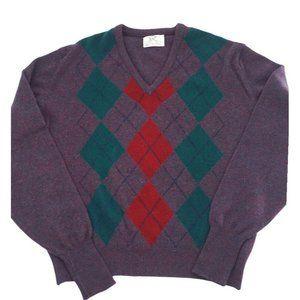 Vintage Lord Jeff Virgin Lambs Wool Sweater